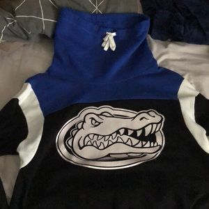 UF cowl neck hoodie